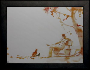 Corto Maltese framed poster : Occidente