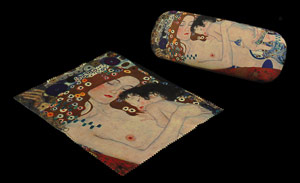 Gustav Klimt Spectacle Case : Motherhood