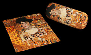 Gustav Klimt Spectacle Case : Adèle Bloch