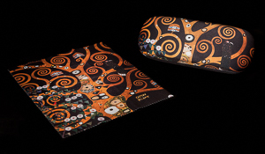 Gustav Klimt Spectacle Case : The tree of life