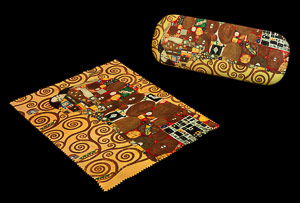 Gustav Klimt Spectacle Case : Fulfillment