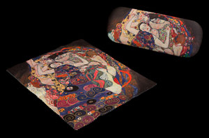Gustav Klimt Spectacle Case : The virgin