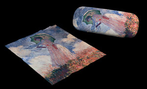 Claude Monet Spectacle Case : Lady with umbrella