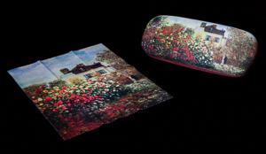 Claude Monet Spectacle Case : The Artist's House