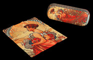 Alfons Mucha Spectacle Case : Summer