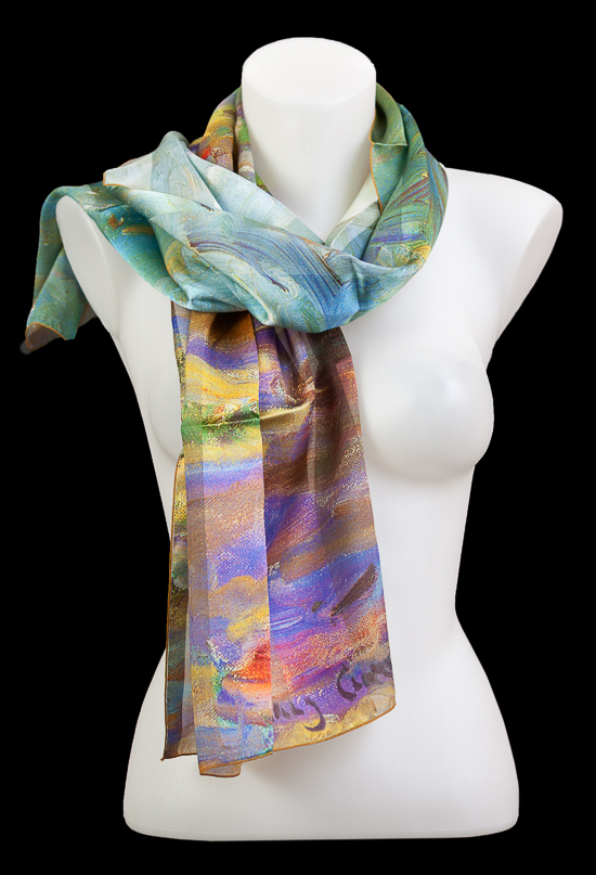 Mary Cassatt scarf : Duck