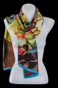 Kandinsky scarf : Abstract