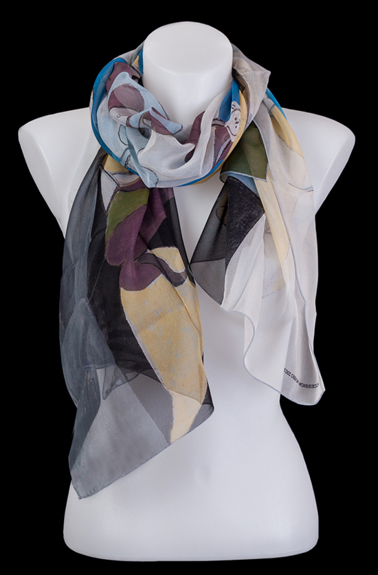 Pablo Picasso scarf : Joy of Life