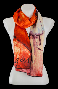 Edgar Degas silk scarf : The ballerinas