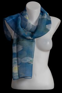 Claude Monet scarf : Blossoming