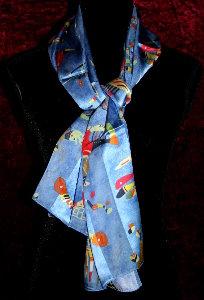 Kandinsky : Art scarves, 100% silk, a cultural and artistic gift idea