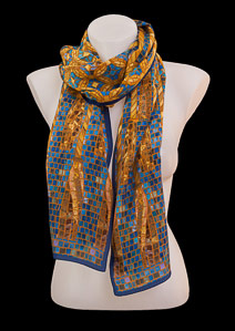 Tiffany silk scarf : Mosaic