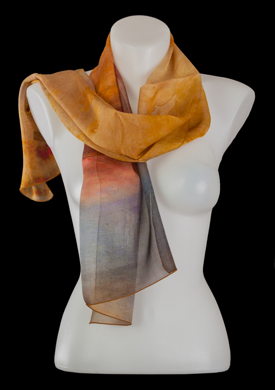 Foulard en soie William Turner : Aurore