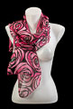 Foulard Mackintosh : Rose et larme