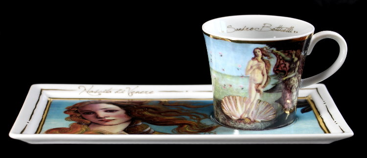 Expresso Birth Venus Sandro Coffee SetCafé The Botticelli Of IEDe9WH2Y