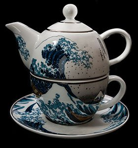 Goebel : Tazza e Teier Tea for One Hokusai, La grande onda di Kanagawa