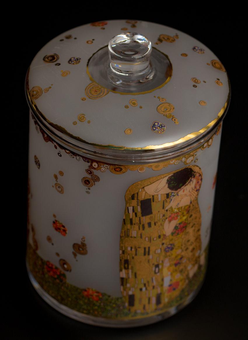 Bombonera Gustav Klimt : El beso