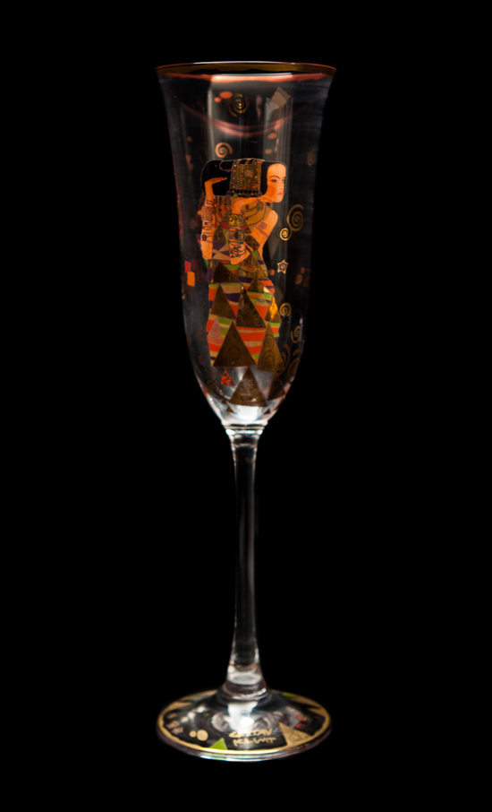 Gustav Klimt Champagne Glass : Expectation
