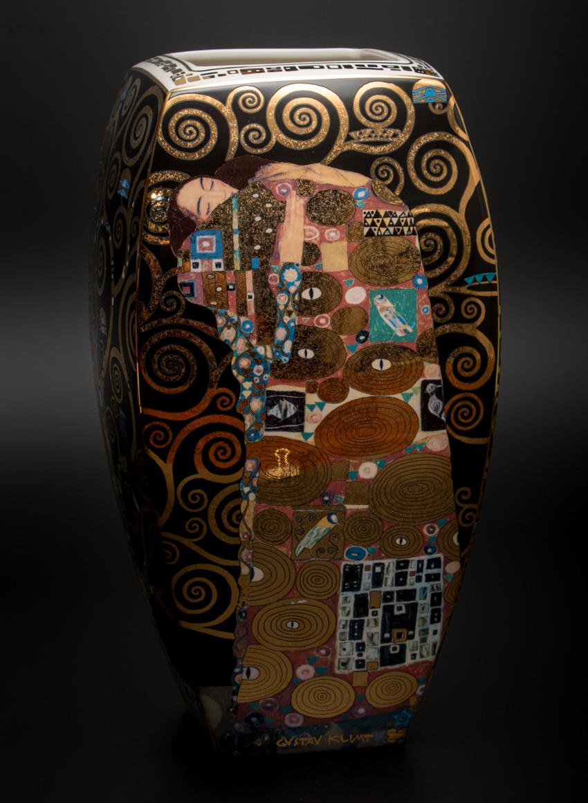 Klimt L Arbre De Vie Tableau gustav klimt : vase en porcelaine : l'arbre de vie