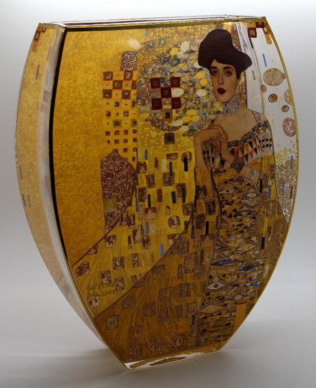 Gustav Klimt Ad 232 Le Bloch Glass Vase