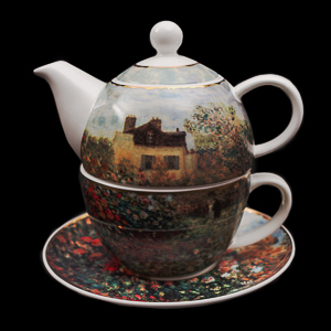 Goebel : Tazza e Teier Tea for One Monet : La casa dell'artista