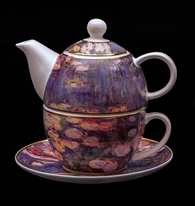 Goebel : Tazza e Teier Tea for One Monet : Nympheas sera