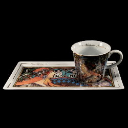 Goebel : Alphonse Mucha Coffee Set : Zodiac