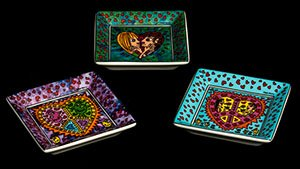Set di 3 piccoli coppe James Rizzi : Love