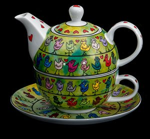Goebel : Tazza e Teier Tea for One James Rizzi : Birds on a love wire