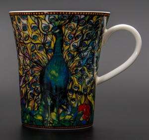 Goebel : Mug Louis C. Tiffany : Paon