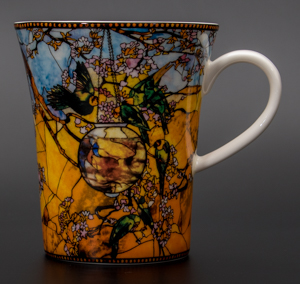 Goebel : Mug Louis C. Tiffany : Perruches