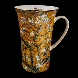 Goebel : Vincent Van Gogh big mug : Almond Tree (gold)