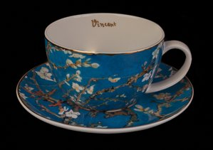 Vincent Van Gogh porcelain teacup : Almond Tree