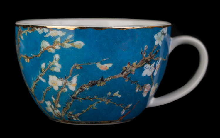 Vincent Van Gogh Teacup And Saucer Almond Tree Goebel