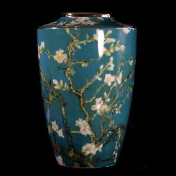 Goebel : Vincent Van Gogh porcelain vase : Almond Tree