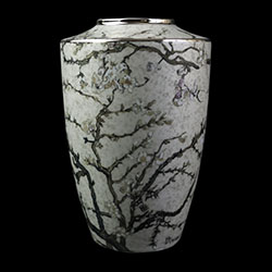 Goebel : Vincent Van Gogh Porcelain vase : Almond Tree (white)