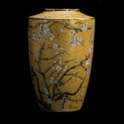 Goebel : Vincent Van Gogh Porcelain vase : Almond Tree (Gold)