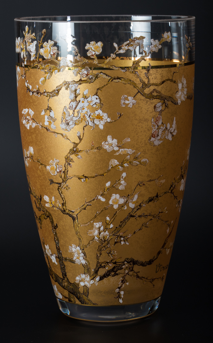 Vincent van gogh glass vase almond tree gold vincent van gogh glass vase almond tree gold reviewsmspy