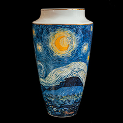 Goebel : Vase Van Gogh : Starry night