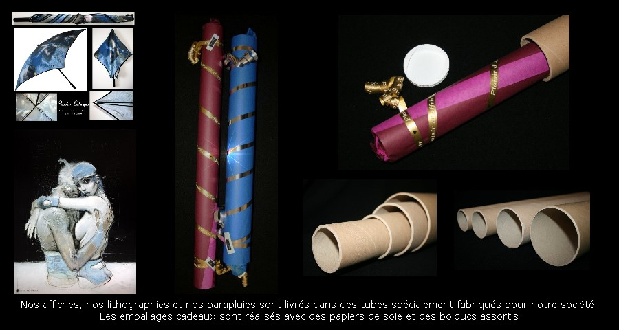 Some examples of gift wrapping