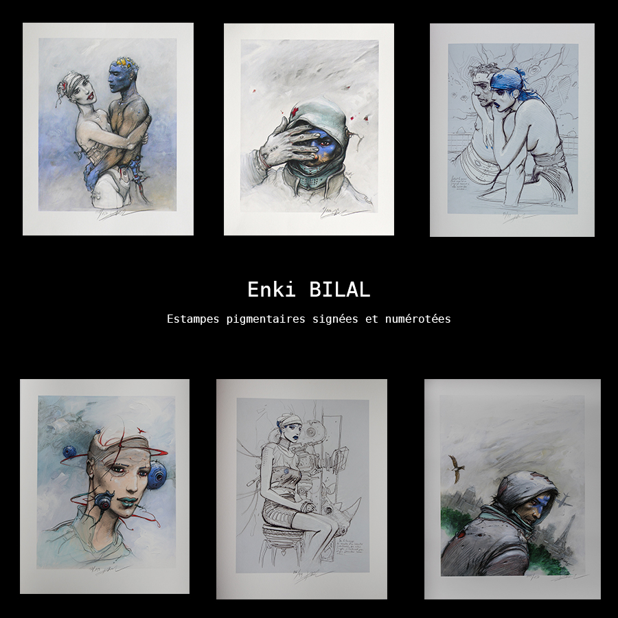 Enki Bilal, Artist of the month