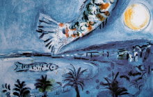 Chagall : Nice, La Baie des Anges