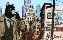 Juanjo Guarnido : Blacksad, New York