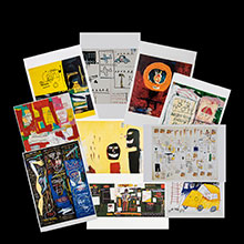 Basquiat postcards