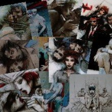 Enki Bilal Postcards