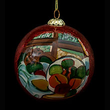 Cézanne Christmas ball
