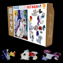 Chagall Puzzles for kids