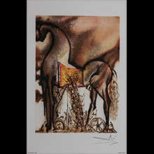 Salvador Dali lithographs