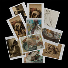Edgar Degas postcards