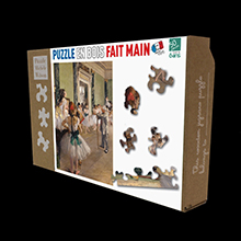 Edgar Degas puzzles for kids